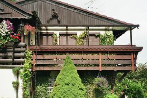 Auch das ist möglich, ein Dach für den Balkon